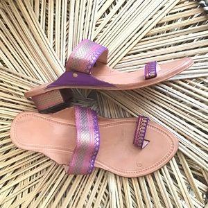 Sahyadri Leather India Heeled Sandals
